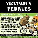 Vegetales a pedales - Comida 100% vegetal a domicilio