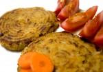Hamburgueses de pastanaga i patata