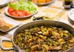 Paella vegana