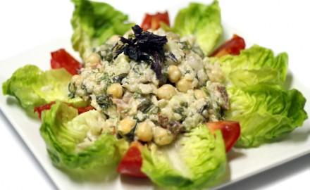 Amanida d'arròs i algues