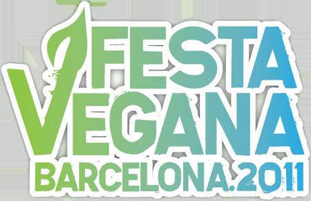Festa Vegana Barcelona 2011 Logo
