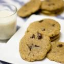 Cookies veganes de xocolata