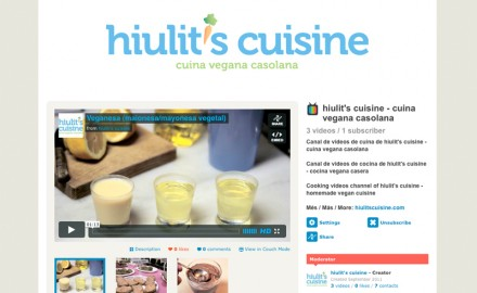 Canal de hiulit&#039;s cuisine - cuina vegana casolana a Vimeo