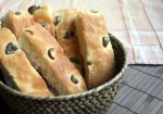 Focaccia d&#039;olives