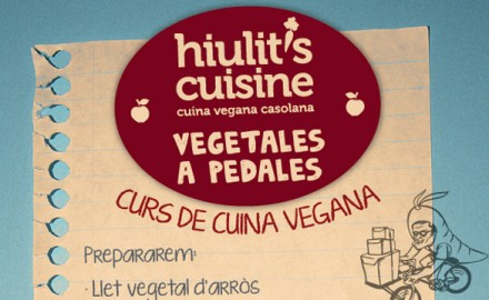Cursos de cuina vegana (hiulit&#039;s ciusine + Vegetales a Pedales)
